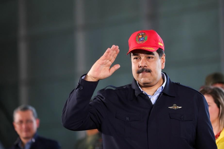 Nicolas Maduro.... (Photo REUTERS)