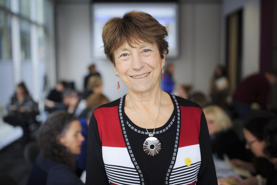 L'ancienne députée de Québec solidaire Françoise David... (Photo EDOUARD PLANTE-FRÉCHETTE, archives La Presse)