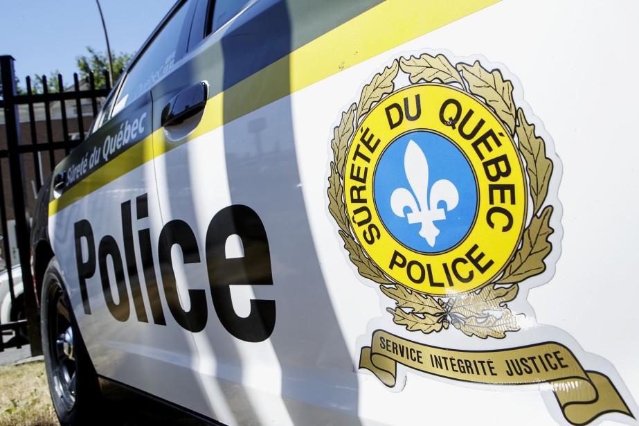 Une violente collision entre deux véhicules... (Photo Alain Roberge, La Presse)