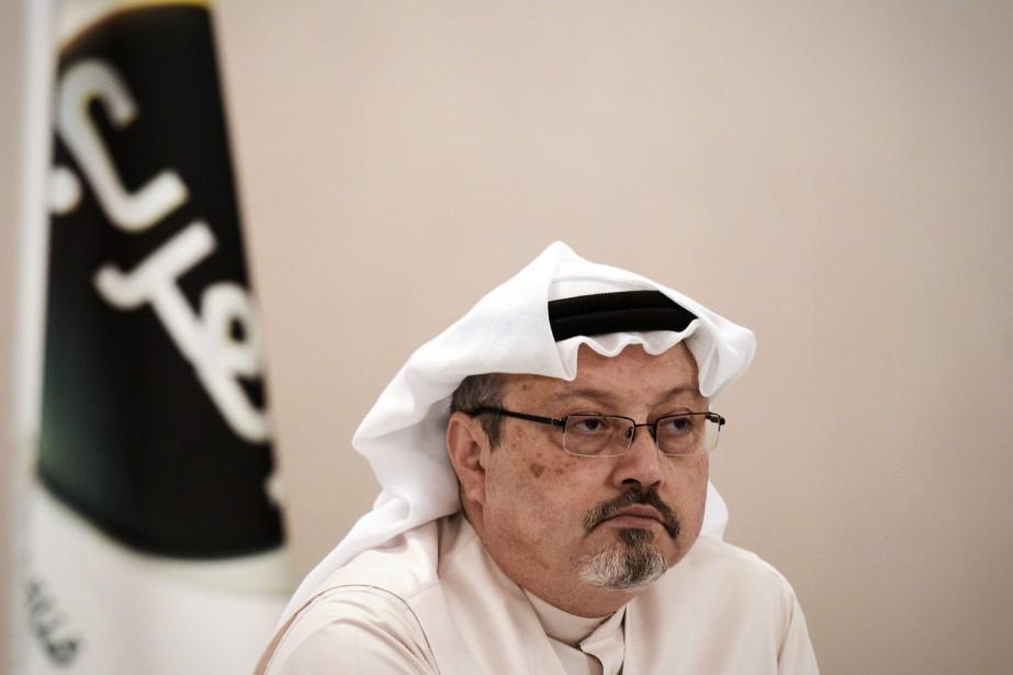 Jamal Khashoggi a été tué le 2octobre à... (PHOTO AFP)