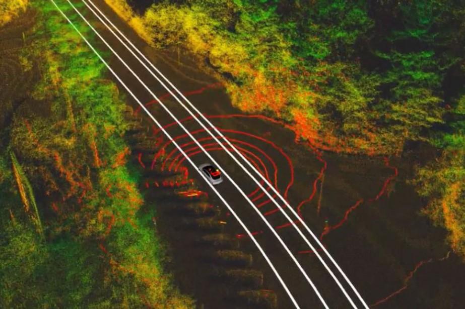 Les radars et caméras permettent aux véhicules autonomes... (Photo Université Michigan State)
