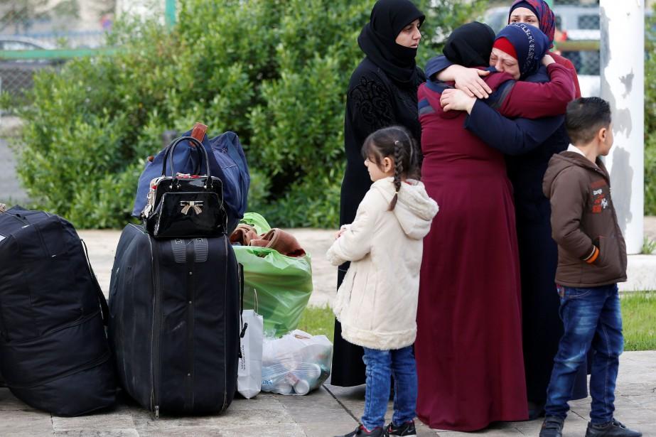 Depuis 2015, environ 117000 réfugiés sont rentrés en... (Photo JAMAL SAIDI, REUTERS)