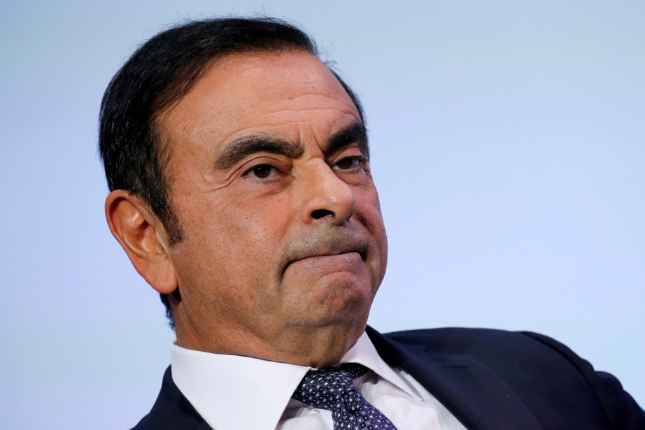 L'incarcération sans accusation de Carlos Ghosn a été... (Photo REUTERS)