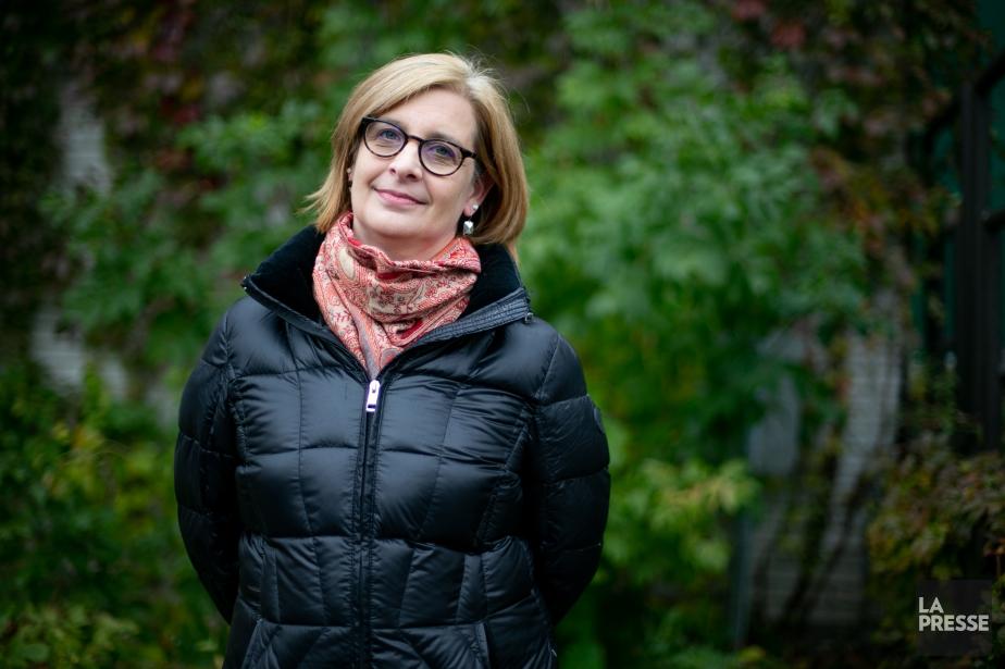 Kathya Dufault... (Photo David Boily, La Presse)