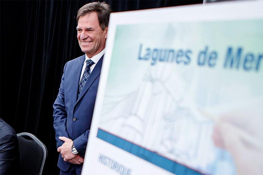 Le maire de Châteauguay, l'avocat Pierre-Paul Routhier.... (Photo Alain Roberge, archives La Presse)