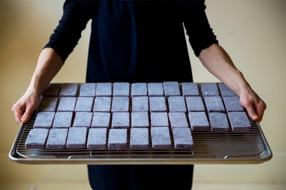 Que ce soit pour les servir en dessert... (Photo Marco Campanozzi, La Presse)