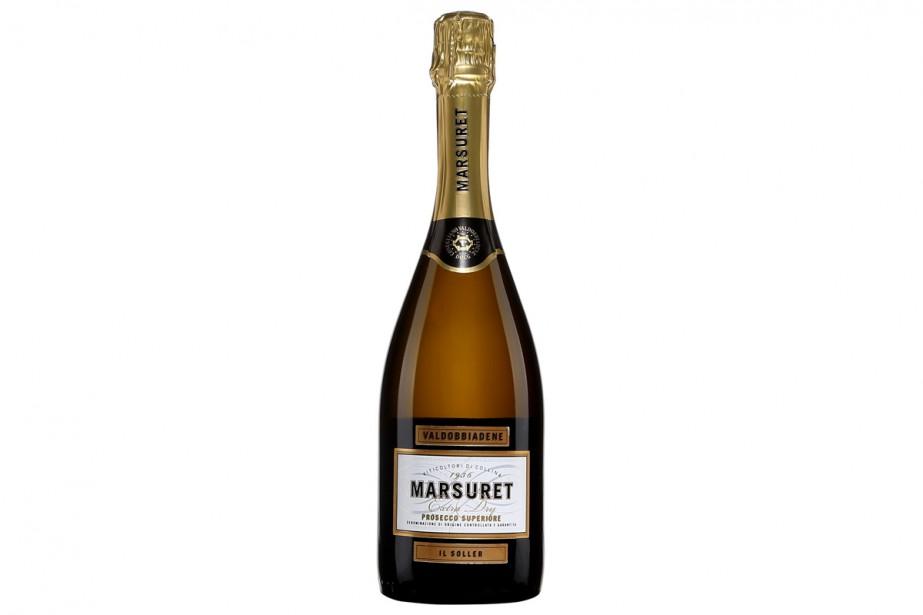 Marsuret Il Soller Prosecco Superiore, 19,95 $ (13409091)... (Photo fournie par la SAQ)