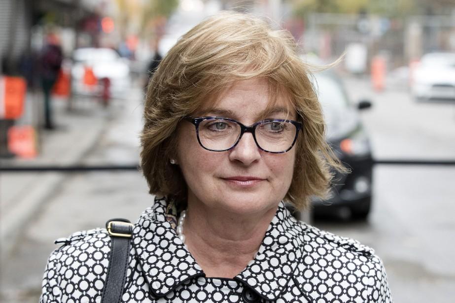 La sénatrice indépendante Julie Miville-Dechêne... (Photo Robert Skinner, archives La Presse)