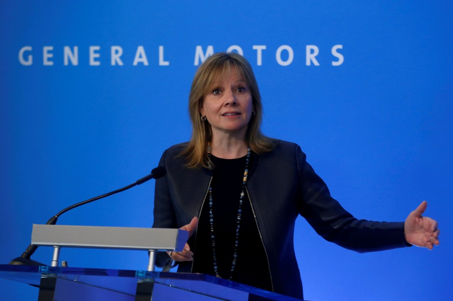 Mary Barra... (Photo Rebecca Cook, archives REUTERS)