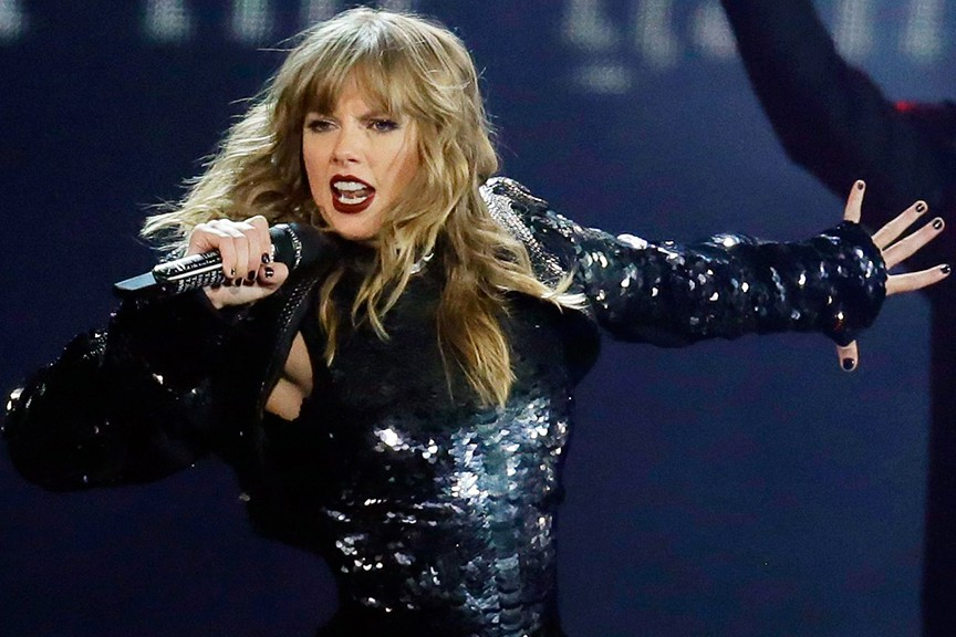 Le spectacle de la plus récente tournéede Taylor... (Photo archives La Presse)