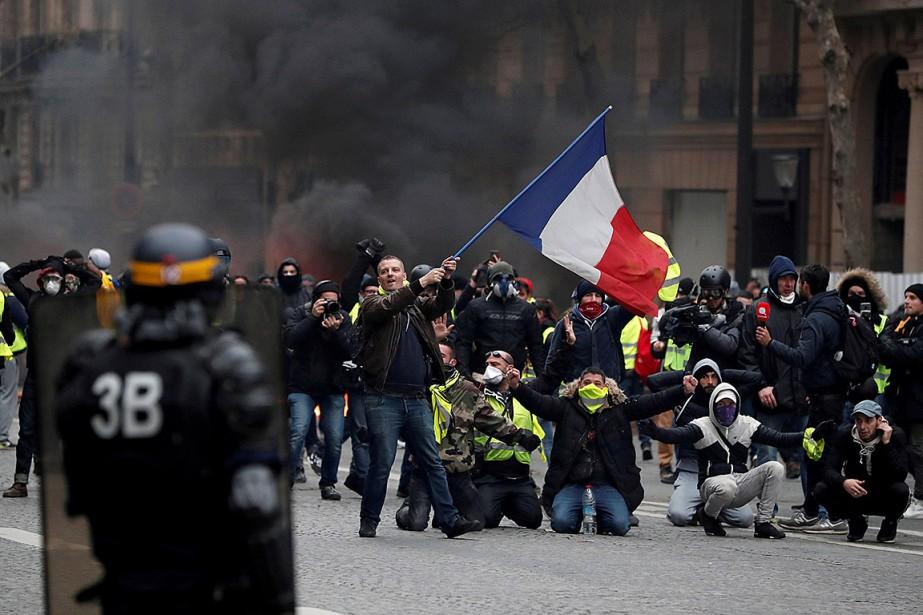 Samedi dernier, la quatrième journée de mobilisation avait... (Photo Benoit Tessier, archives REUTERS)
