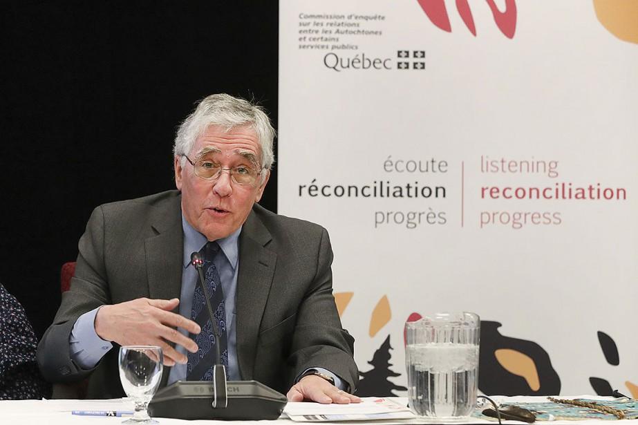 Le président de la Commission, Jacques Viens.... (Photo Robert Skinner, archives La Presse)