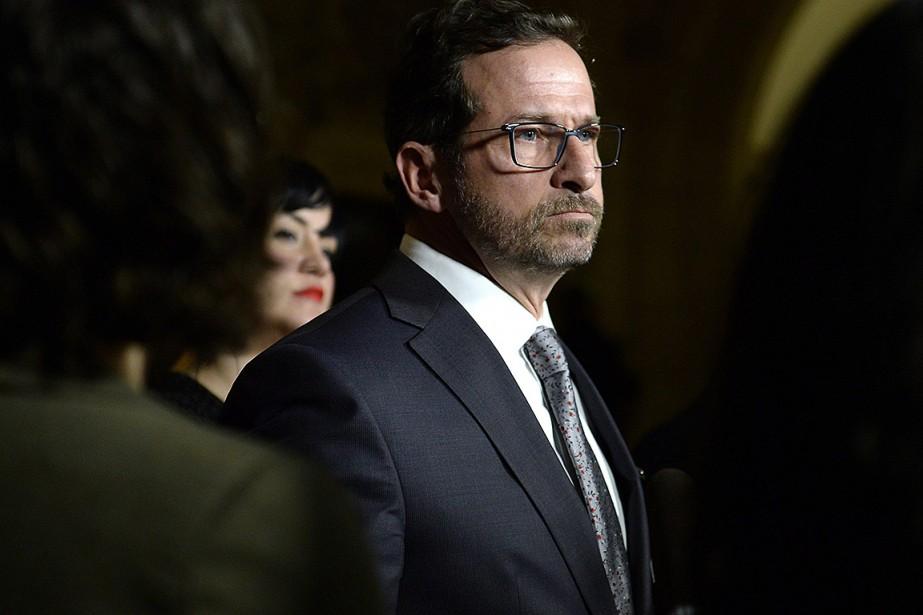 L'ancien ministre péquiste Yves-FrançoisBlanchet peut compter sur l'appui... (Photo JustinTang, archives La Presse canadienne)