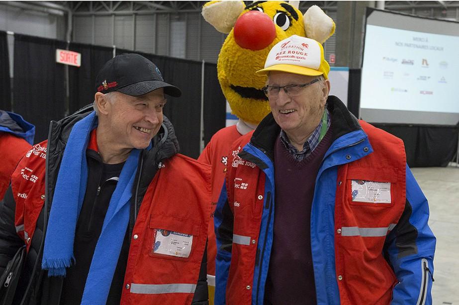 Le fondateur de l'Opération Nez rouge, Jean-Marie De... (Photo FRANCIS VACHON, La Presse canadienne)