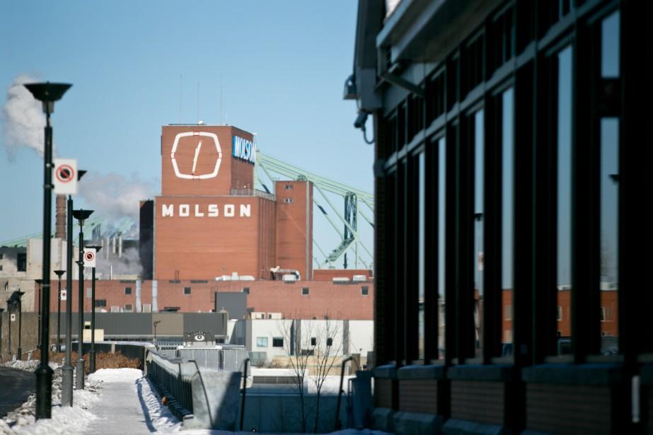 L'annonce du départ de la brasserie Molson, établie... (PHOTO FRANÇOIS ROY, ARCHIVES LA PRESSE)
