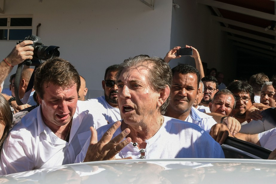 Le scandale a éclaté après la diffusion la... (Photo EVARISTO SA, AFP)