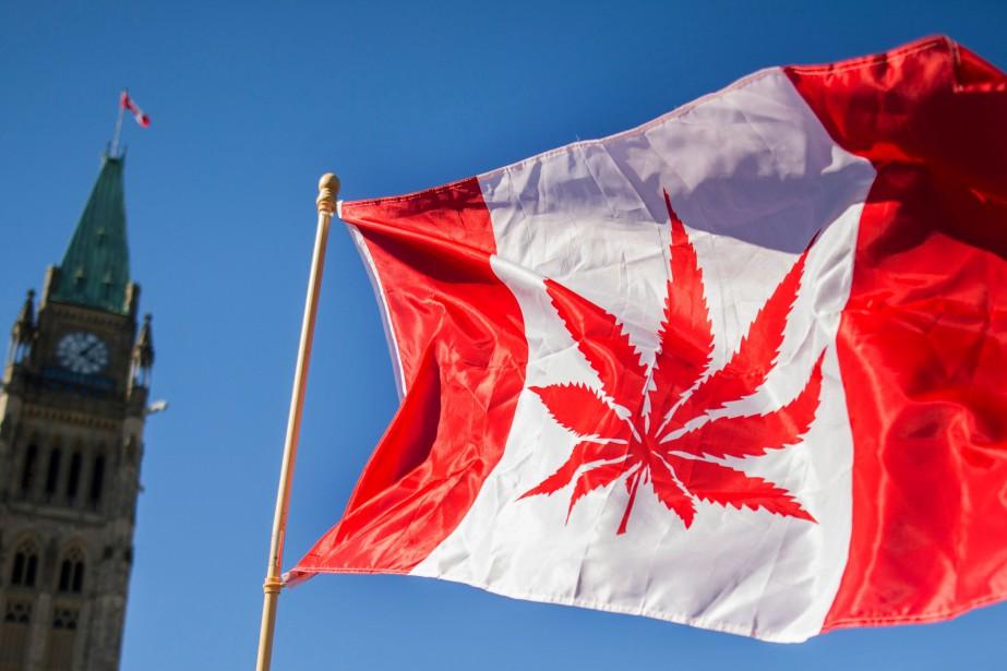 Le 17octobre, le Canada est devenu le deuxième... (Photo CHRIS ROUSSAKIS, AFP)