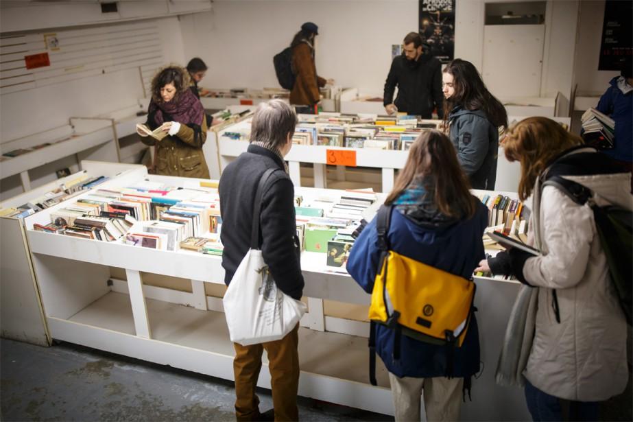 Le propriétaire du Colisée du livre a choisi... (Photo Olivier Jean, La Presse)