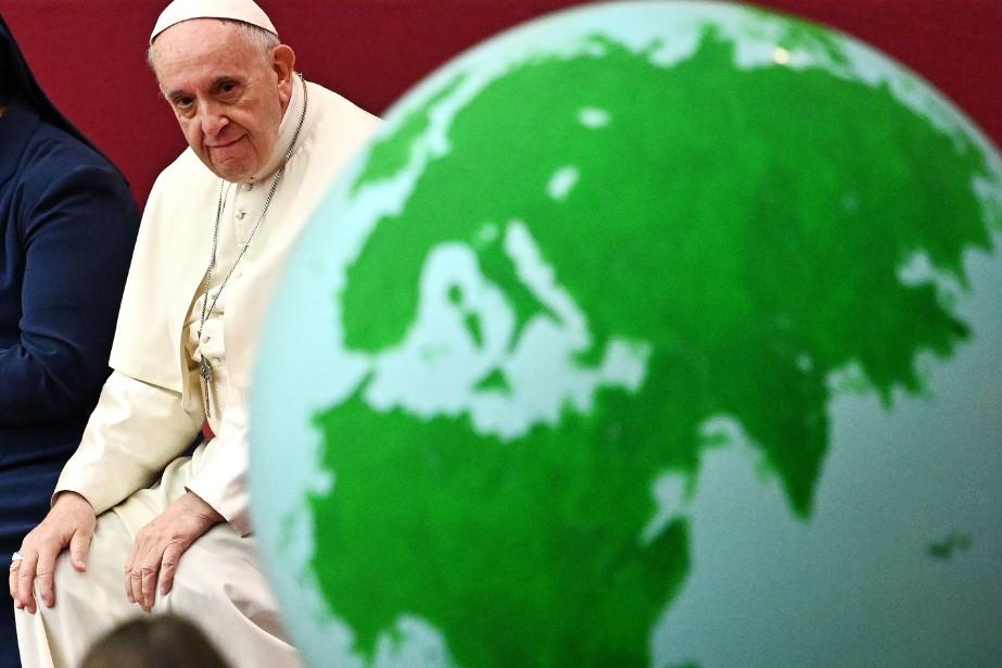 Le pape François a convoqué les leaders de... (Photo VINCENZO PINTO, Agence France-Presse)
