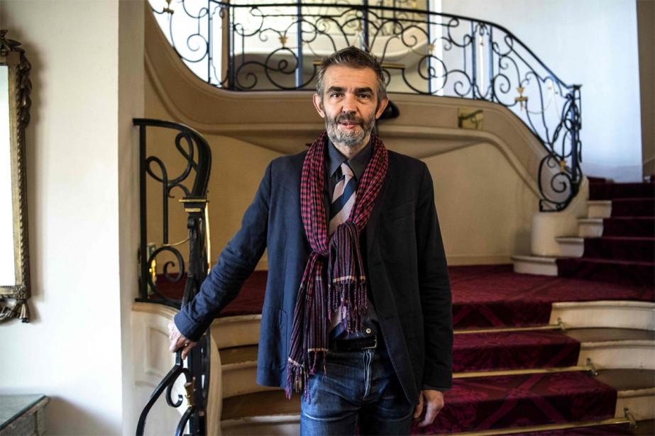 L'écrivain et journaliste Philippe Lançon, survivant de l'attaque... (PHOTO CHRISTOPHE ARCHAMBAULT, ARCHIVES AGENCE FRANCE-PRESSE)