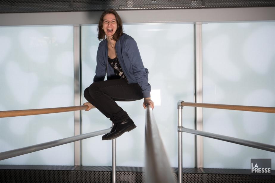 La réalisatrice Christine Chevarie-Lessard a suivi pas à... (Photo Ivanoh Demers, La Presse)