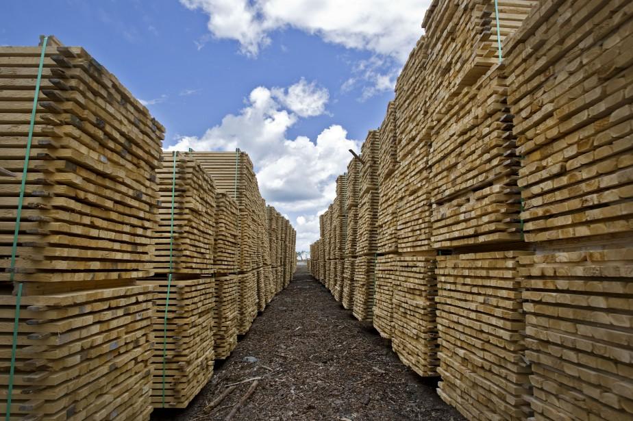 L'industrie forestière sera... (Photo Patrick Sanfaçon, archives La Presse)