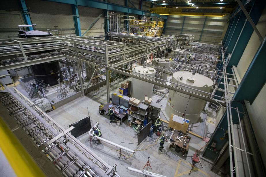 Nemaska Lithium mène en parallèle la construction d'une... (La Presse)