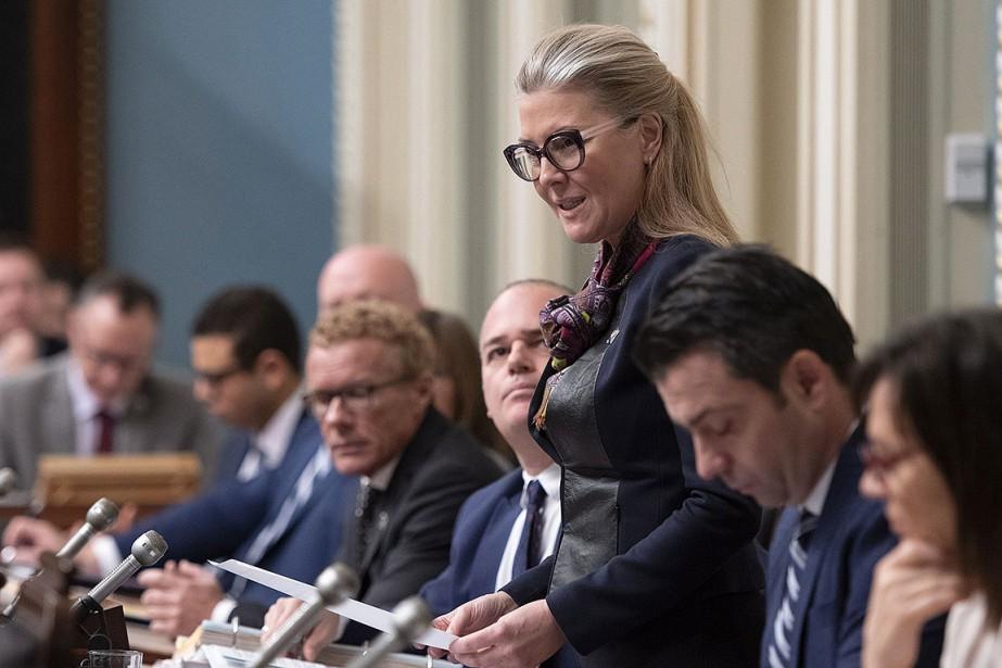 La nouvelle ministre de l'Environnement, MarieChantal Chassé.... (Photo Jacques Boissinot, archives PC)