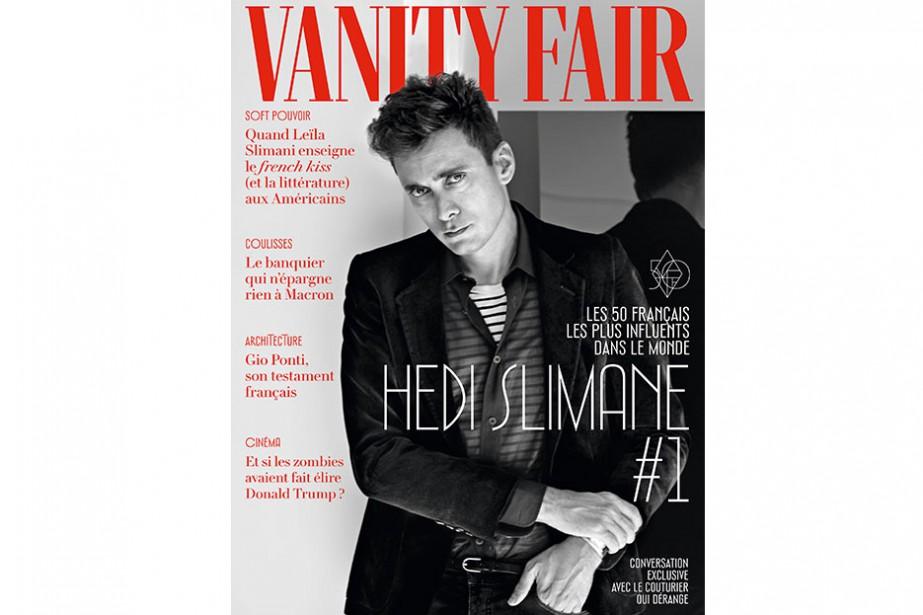 Le Vanity Fair France... (Photo tirée du site web de Vanity Fair France)
