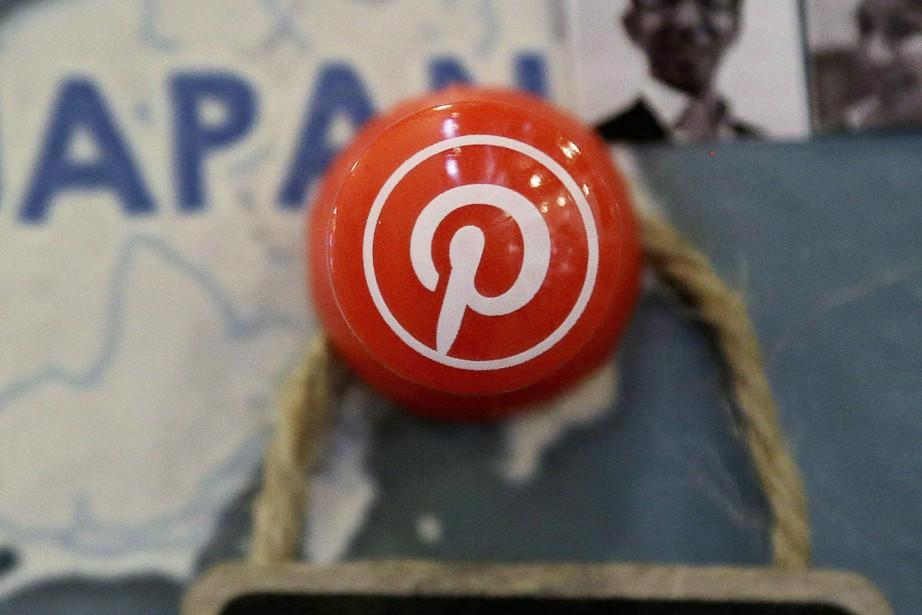 L'application américaine Pinterest, basée sur la collecte et... (Photo Jeff Chiu, archives Associated Press)