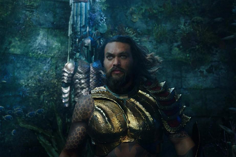 Jason Momoa dans Aquaman, un film de James... (Photo fournie par Warner Bros. Pictures)