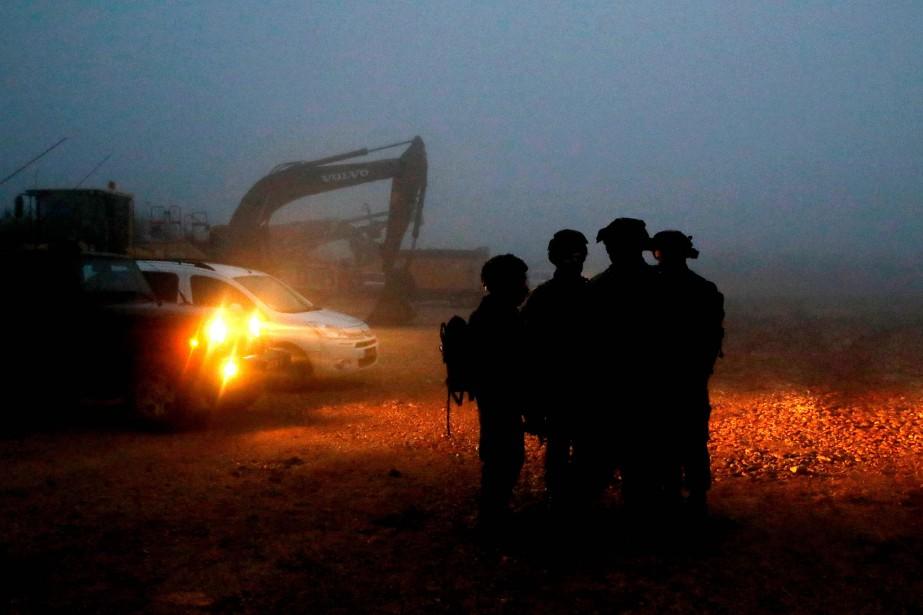 L'armée israélienne a annoncé jeudi soir commencer la... (Photo JACK GUEZ, Agence France-Presse)