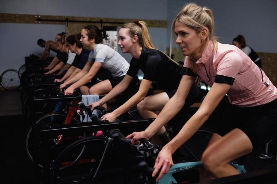De minicamps d'entraînement organisés pendant les Fêtes permettent... (Photo tirée de la page Facebook de Vélo Cartel Café Cycliste)
