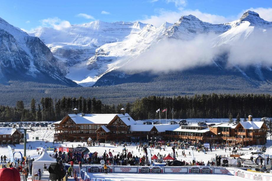 Une station de ski de renommée mondiale située en... (Photo MARK RALSTON, AFP)