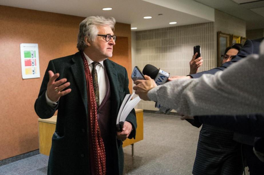 «Dans le cas de Gilbert Rozon (photo), une... (Photo Martin Chamberland, archives La Presse)