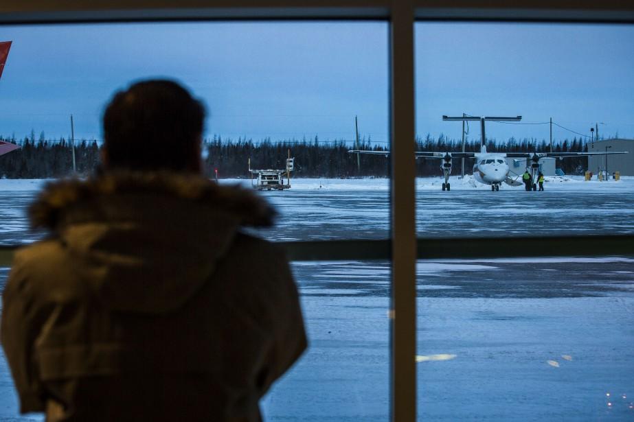«À la suite de leur transfert du Nunavik... (Photo Olivier PontBriand, archives La Presse)