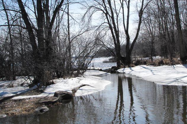 Des berges le long de la rivière des... (Photo RaynultM, Wikimedia Commons)