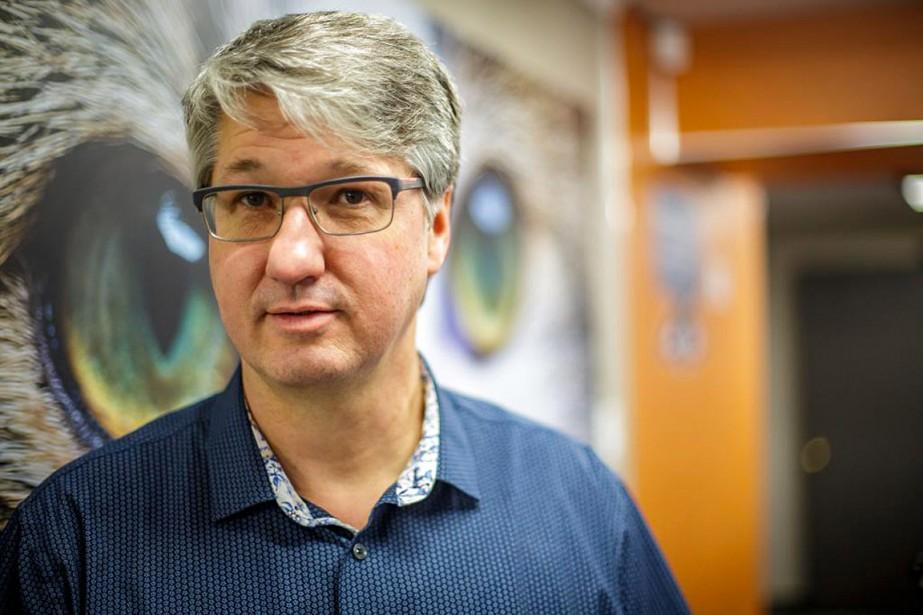 Mario Gamache estime que tous les élèves en... (Photo Olivier Jean, La Presse)