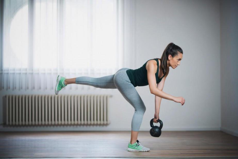 S'entraîner seul à la maison, cen'est pas l'équivalent... (Photo Getty Images)