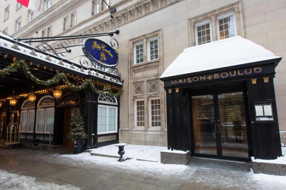 La Maison Boulud, le restaurant de l'hôtel Ritz-Carlton,... (Photo Olivier Jean, Archives La Presse)