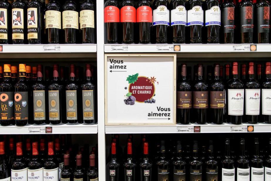 Les Québécois sont toujours aussi friands de vin.... (Photo Alain Roberge, Archives La Presse)