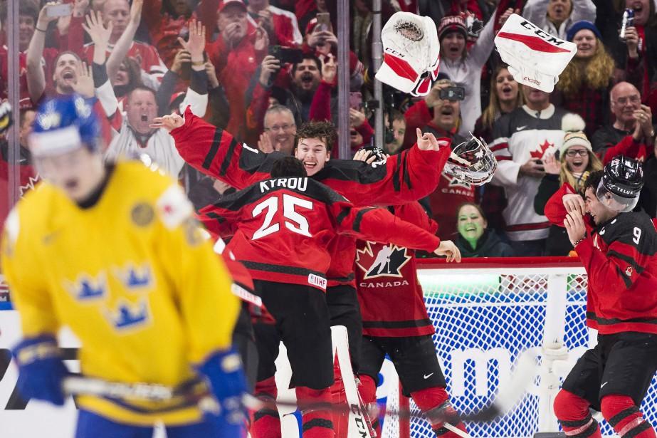 Le Canada a remporté la médaille d'or aux... (PHOTO PC)