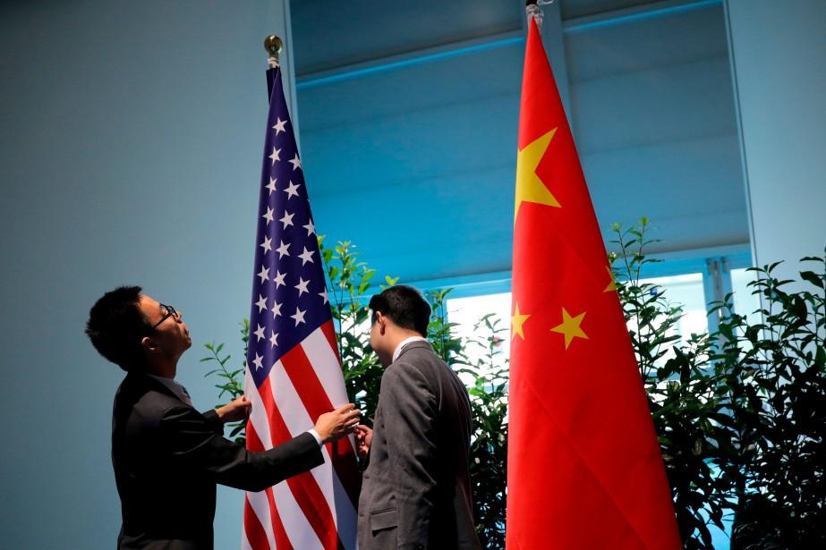 Depuis la grande tension commerciale de l'été, plusieurs... (Photo Carlos Barria, archives Reuters)