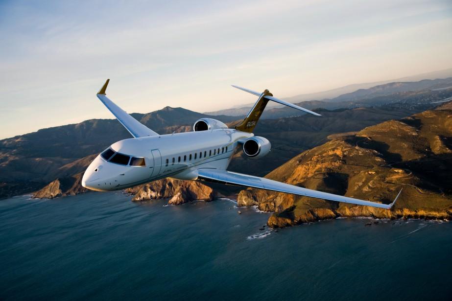 La transaction de quatre avions d'affaires Global 6000... (photo fournie par bombardier)