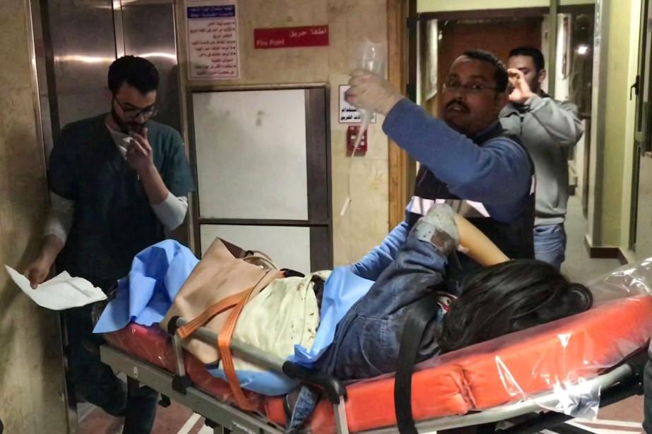 Cet attentat est le premier contre des touristes... (Photo AFP)