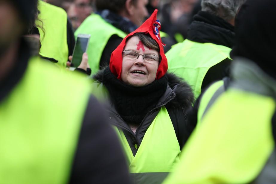 Le mouvement semble poursuivre sa décrue. Au total,... (Photo ZAKARIA ABDELKAFI, AFP)