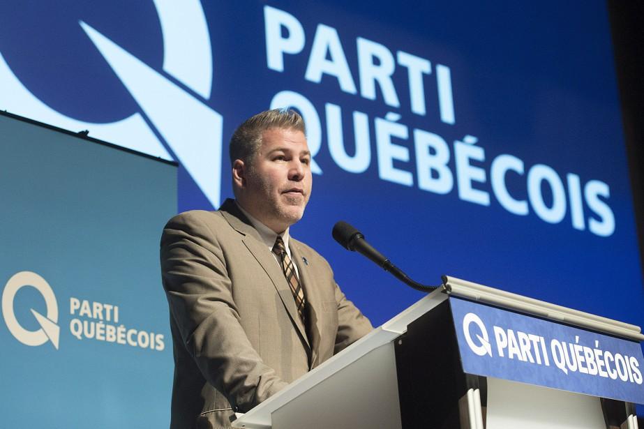 Le chef intérimaire péquiste, PascalBérubé.... (Photo Graham Hughes, archives La Presse canadienne)