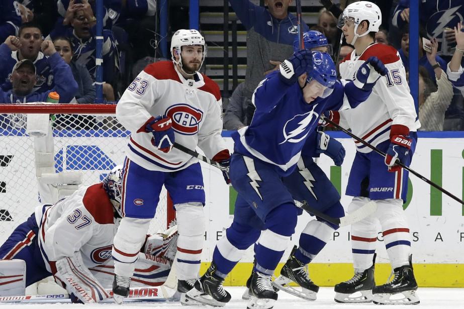 Le Canadien a tenu tête pendant longtemps au... (Photo Chris O'Meara, AP)