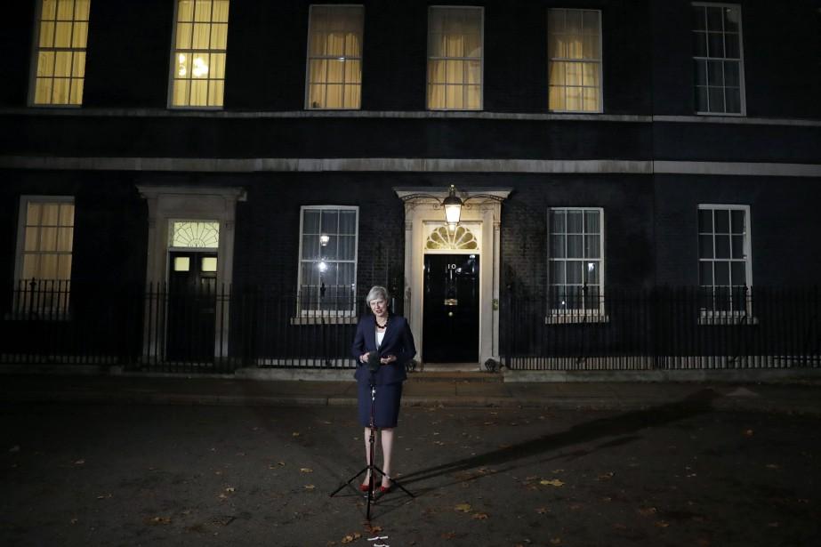 La première ministre britannique, Theresa May... (Photo Matt Dunham, AP)