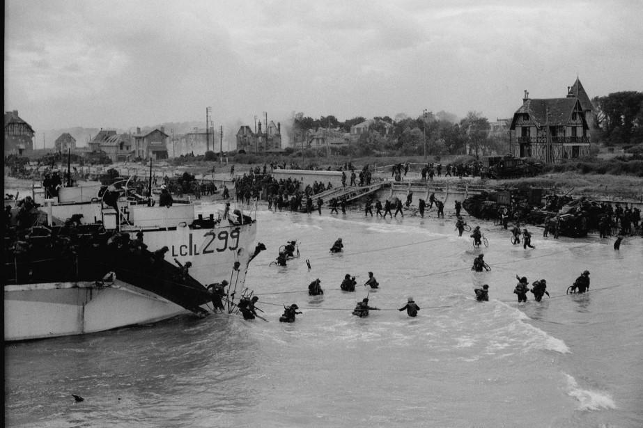 Le 6juin1944, quelque 150000soldats alliés, en majorité des... (Photo GILBERT ALEXANDER MILNE, La Presse canadienne)